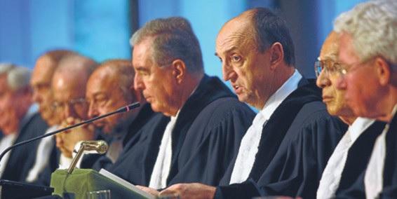 Magistrados de la Corte Internacional de Justicia CIJ de La Haya