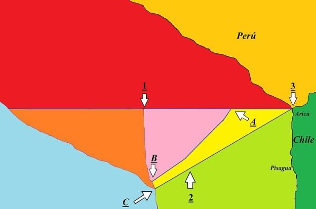 Mapa esquemático del resultado del fallo