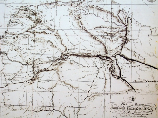 A Map of the Rivers Orinoco Essequibo Branco