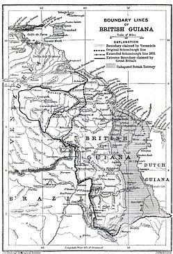 BOUNDARY LINES BRITISH GUIANA