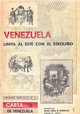 Venezuela limita al este con el esequibo