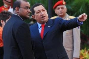 Chavez y jagdeo 2010