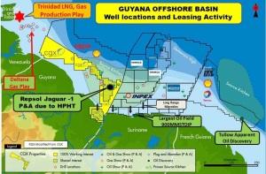 Guyana offshore basin